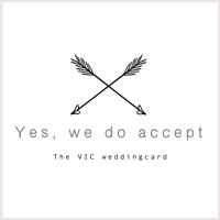 VIC Weddingcard