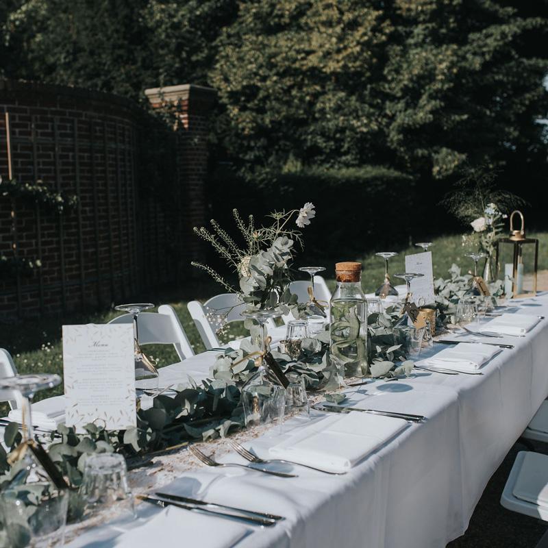 Styling bruiloft buiten