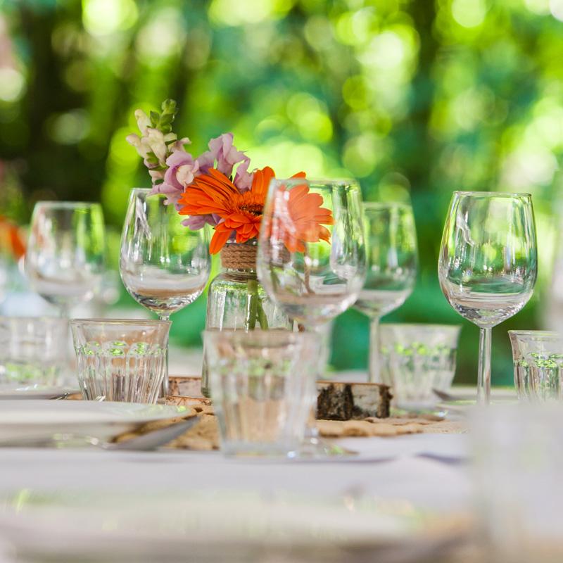 Tafel styling bruiloft